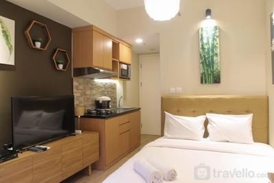 Tranquil Studio Springlake Summarecon Apartment By Travelio
