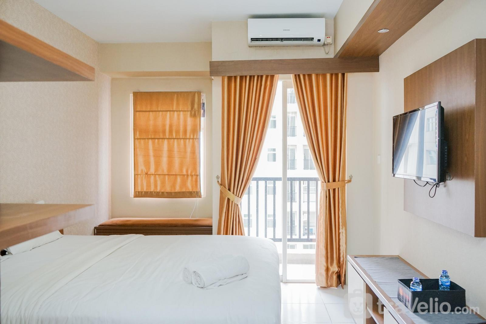 Apartemen Ayodhya Residence Tangerang - Pleasant Studio Apartment with City View at Ayodhya Residences By Travelio