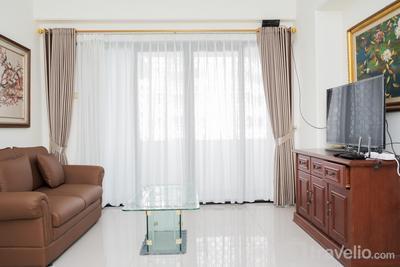 Homey 3BR Kondominium Golf Karawaci Apartment By Travelio