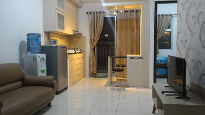 Minimalist Apartment Mediterania Garden 2 2BR