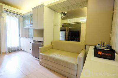 Homey and Comfy 2BR Kalibata City Apartment By Travelio