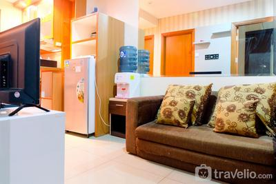 2BR Apartment with City View @ Woodland Park Residence By Travelio