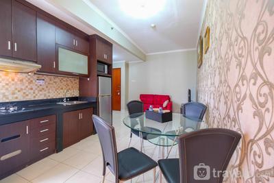 Strategic 2BR at Sudirman Park Apartment By Travelio