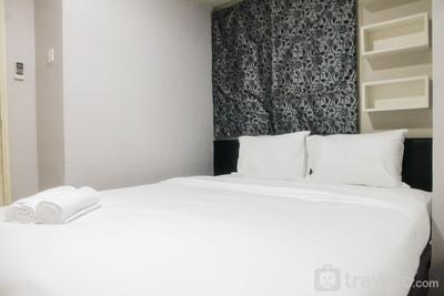 Simply Minimalist 2BR Apartment at Kalibata City Residence By Travelio