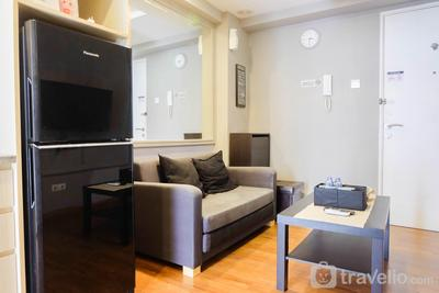 Exclusive and Spacious 1BR Apartment at Bassura City By Travelio