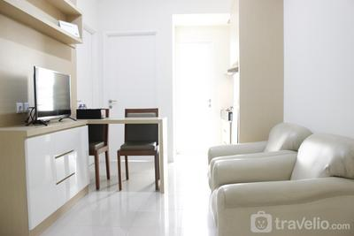 Quiet 2BR Apartment at Parahyangan Residence By Travelio