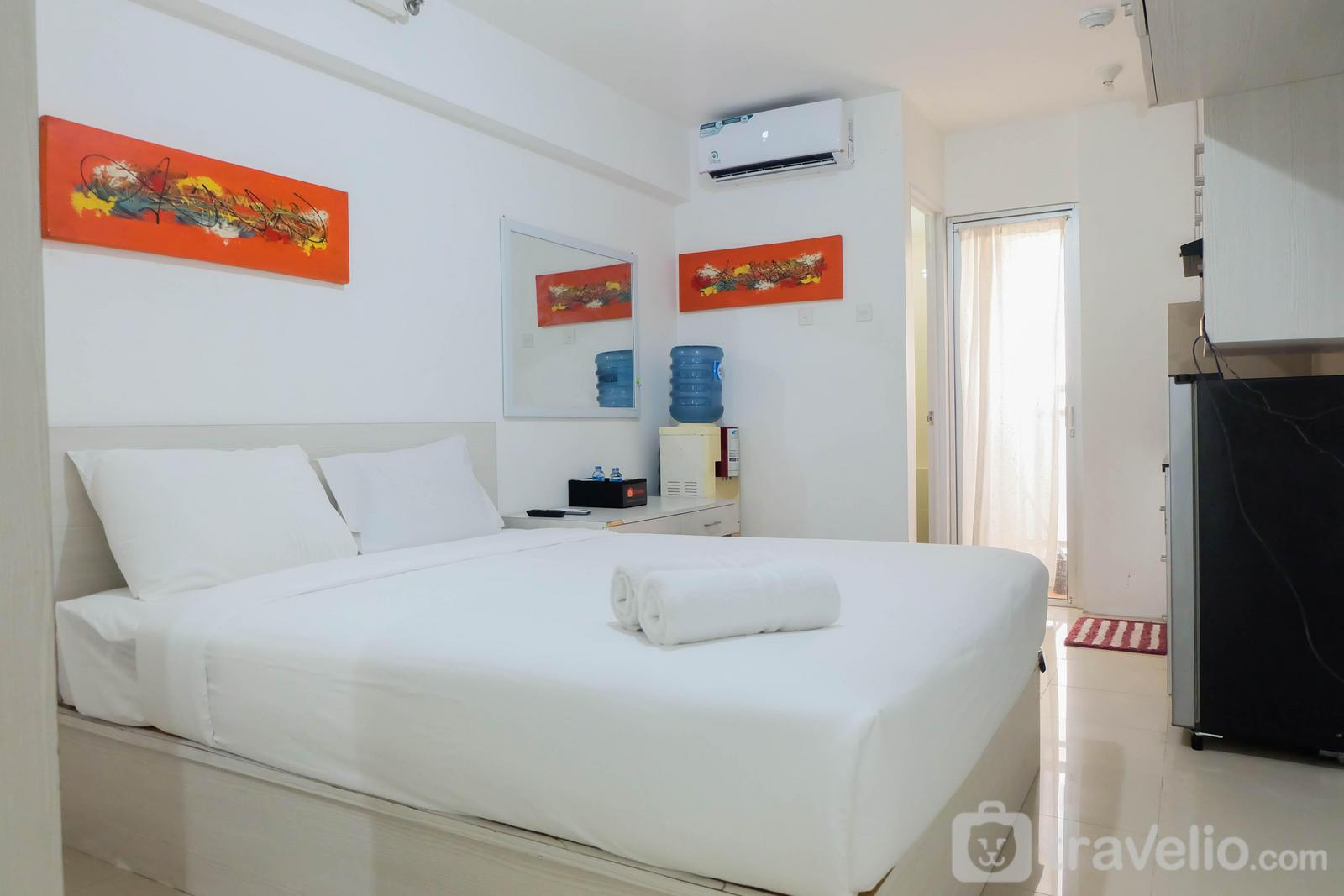 Bassura City Cipinang - Tidy Studio Apartment at Bassura City near Shopping Mall By Travelio