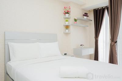 Minimalist Studio Apartment at M-Town Residence near Summarecon Serpong By Travelio