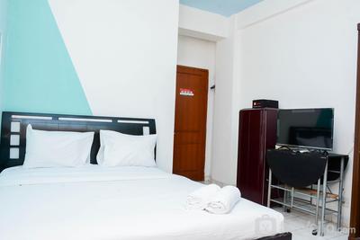 Homey Studio Apartment at Margonda Residence 1 By Travelio
