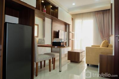 Modern 1BR City View @ Signature Park Grande Apartment By Travelio