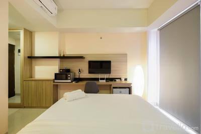 Fully Furnished Studio (No Kitchen) Apartment at Mustika Golf Residence By Travelio
