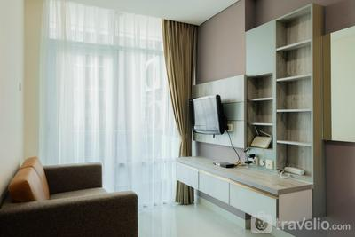 Cozy 1BR Apartment at Brooklyn near IKEA Alam Sutera By Travelio