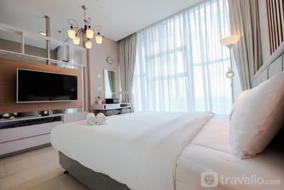Brooklyn Alam Sutera Studio Apartment with Sofa Bed By Travelio