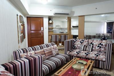 Classic and Strategic 3BR Sudirman Tower Condominium By Travelio