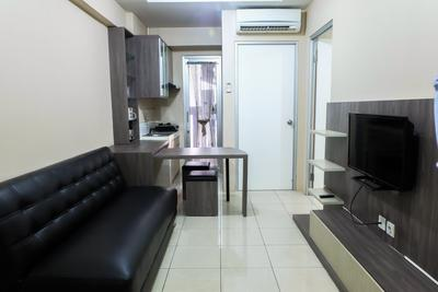 2BR Pool View Green Bay Apartment Pluit By Travelio