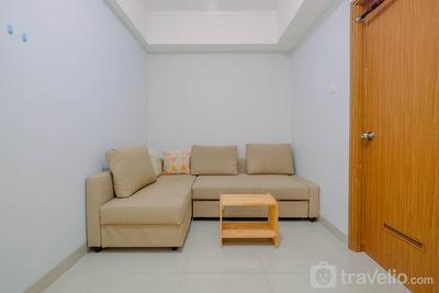 Minimalist and Posh 1BR The Oasis Cikarang Apartment By Travelio