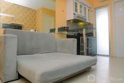 Bassura City 2BR Apartment with Minimalist Design near Shopping Mall By Travelio
