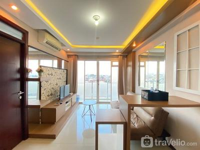 Cozy 2BR Apartment at Gateway Pasteur Bandung By Travelio
