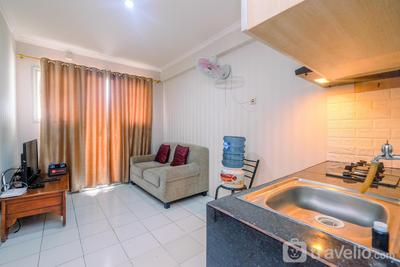 Fully Furnished with Comfortable Design 2BR Apartment Sentra Timur Residence By Travelio