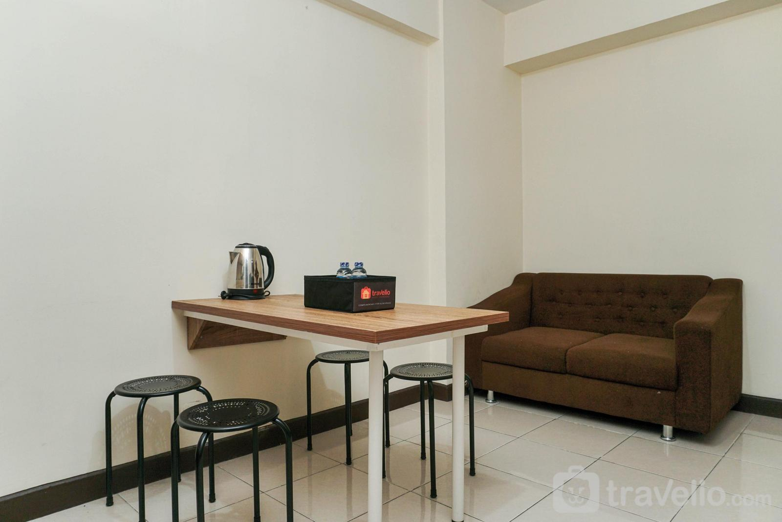 Apartemen Pluit Sea View - Homey and Simply For 2BR Pluit Sea View Apartment By Travelio