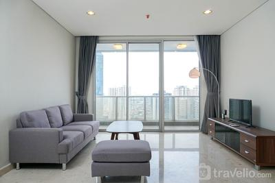 Elegant 2BR at The Empyreal Condominium Epicentrum Apartment By Travelio