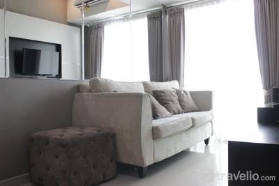 Pleasant and Homey 2BR Apartment at Tamansari La Grande By Travelio