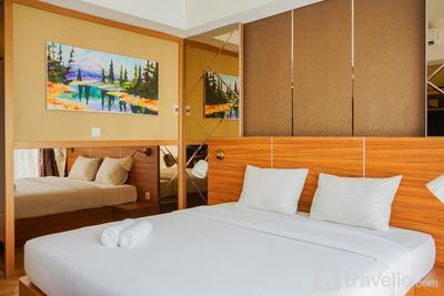 Chic and Cozy Studio Apartment at Bintaro Plaza Residence By Travelio