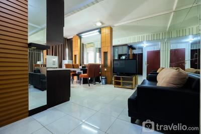 2BR City View Sudirman Park Apartment By Travelio