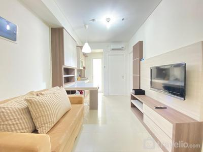 Private & Bright 2BR Apartment at Parahyangan Residence near Nara Park By Travelio
