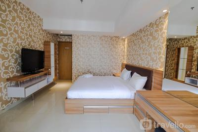 2BR with Luxury Interior @ The Mansion Kemayoran Apartment By Travelio