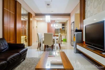 Strategic & Spacious 3BR Apartment at Trillium Residence By Travelio